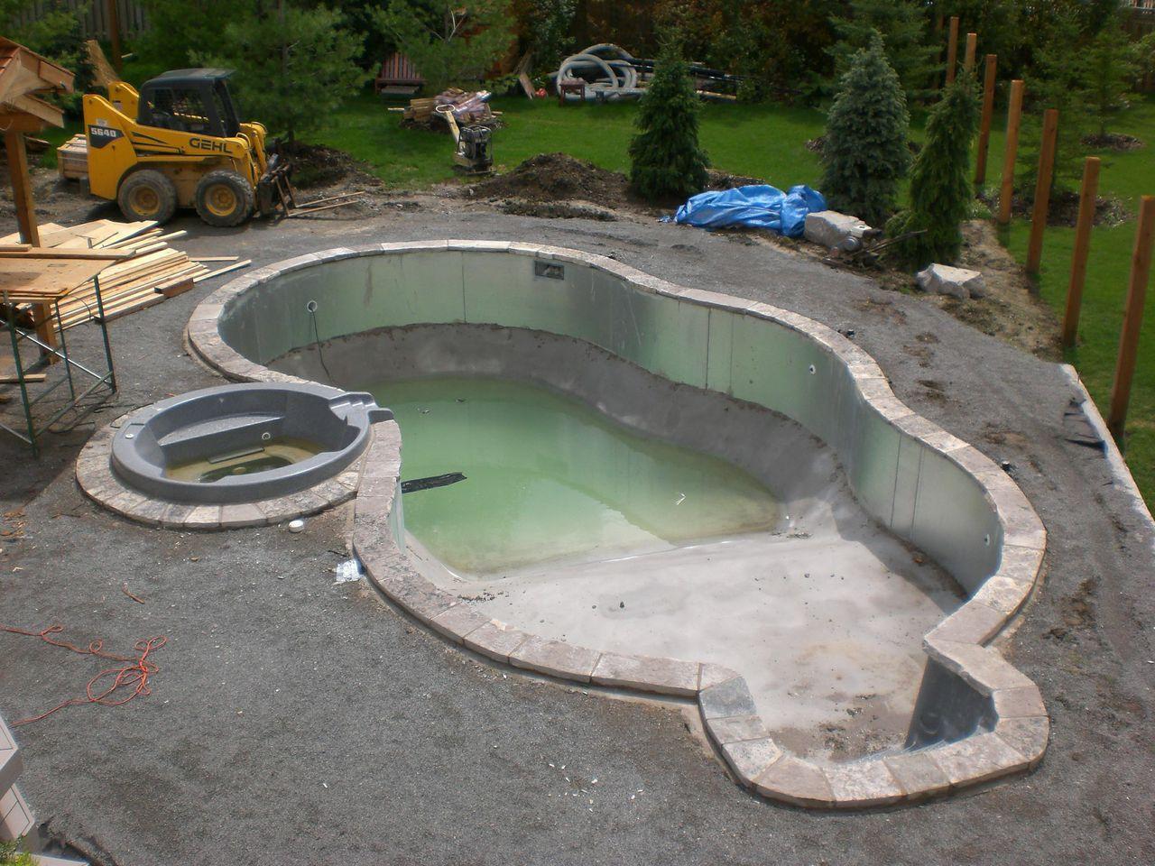 Custom Pool Construction Inground Swimming Pools