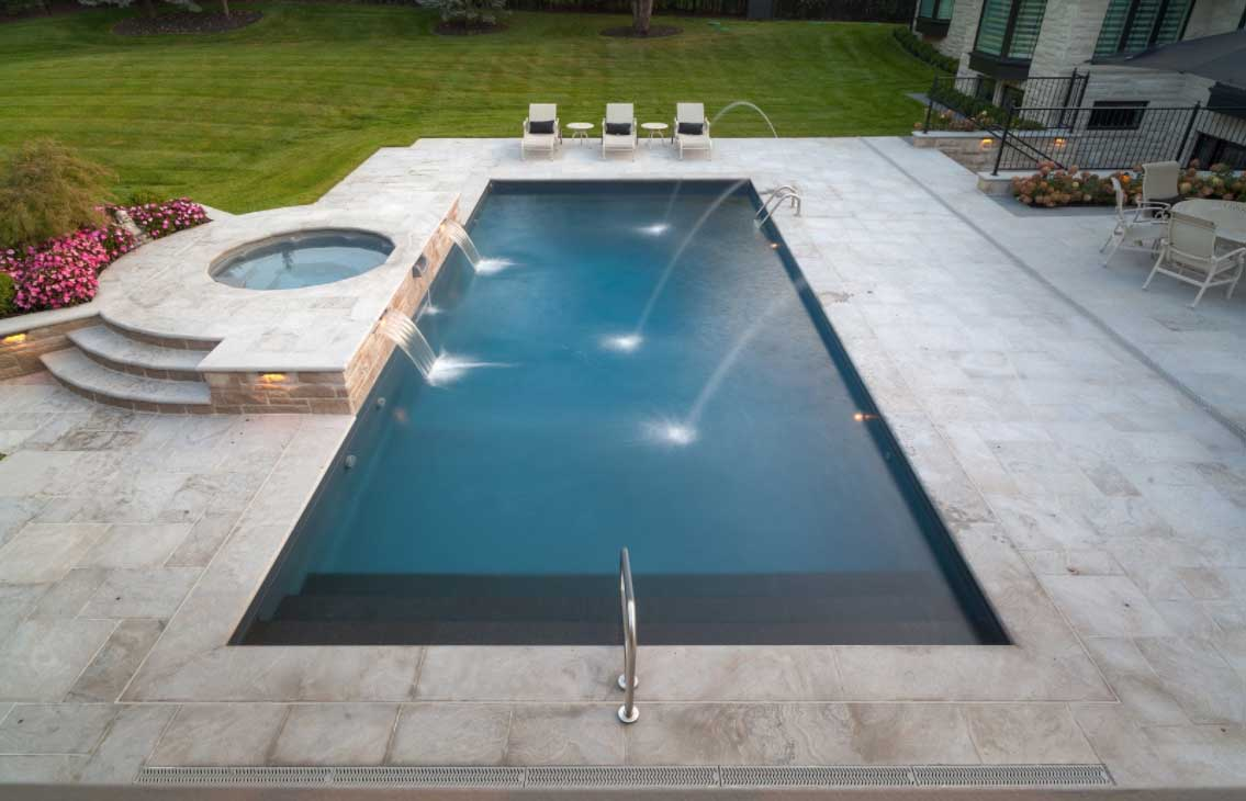 Toronto 39 s swimming pool company design install - Swimming pool installation companies ...