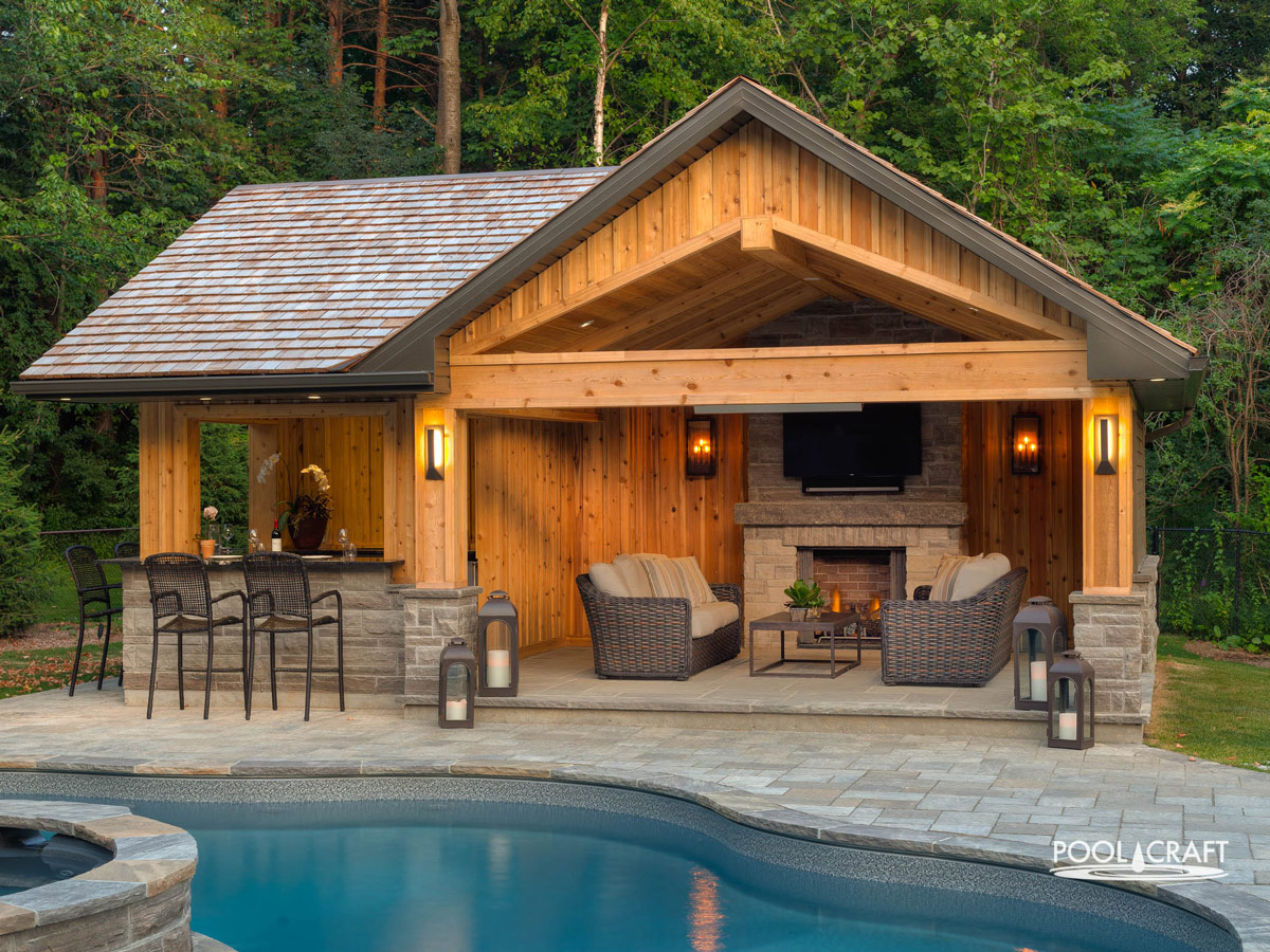 Cabanas and Woodworking - Pool Craft